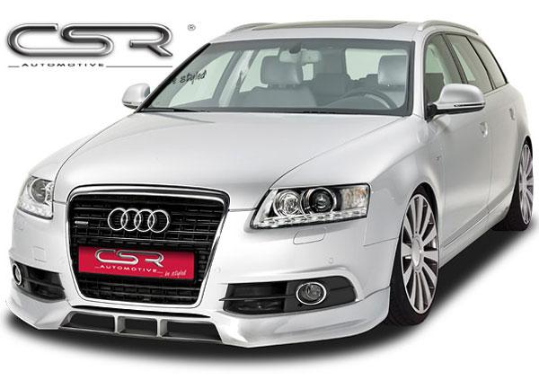 Audi A6 4F S-Line Facelift spoiler pod originální přední nárazník (S-Line)