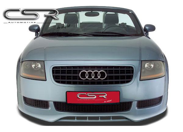 Audi TT 8N spoiler pod originální přední nárazník (design SF-Line)