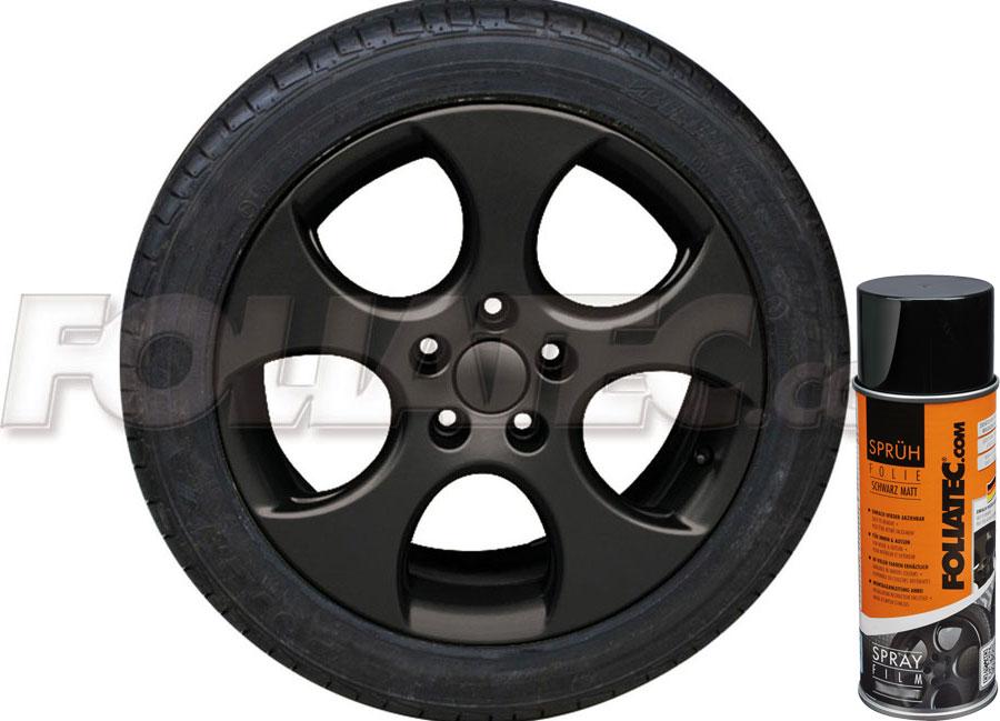 Plasti DIP černá matná 400ml Foliatec (Fólie ve spreji DIP)