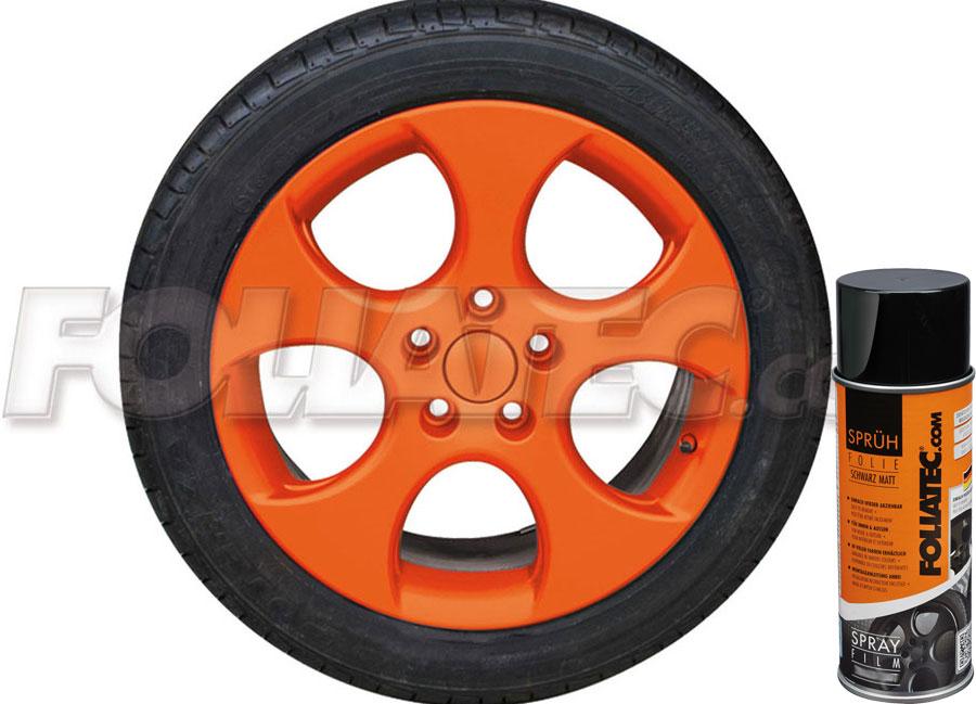 Plasti DIP oranžová matná 400ml Foliatec (Fólie ve spreji Dip)