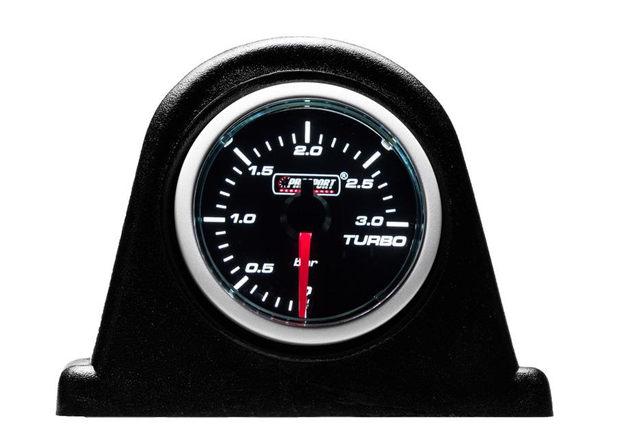 Přídavný ukazatel tlaku turba pro dieselové motory 0 až 3bar (kouřové krycí sklo)