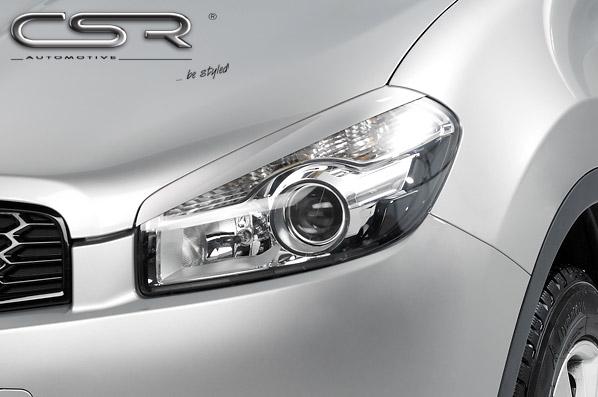 Nissan Qashqai mračítka předních světlometů