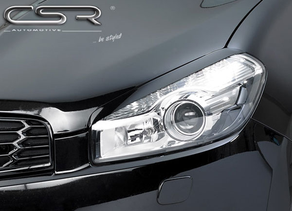 Nissan Qashqai facelift mračítka předních světlometů