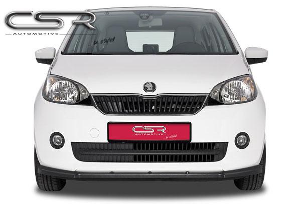 Škoda Citigo spoiler pod originální přední nárazník (od roku 2011)