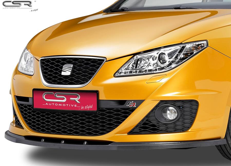 Seat Ibiza FR 6J spoiler pod originální přední nárazník (model FR)