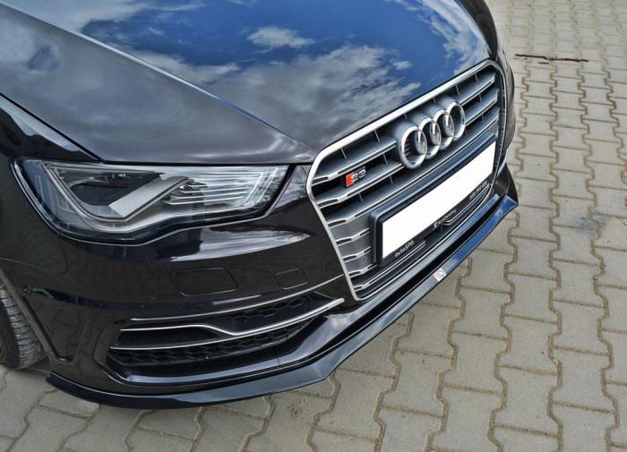 Audi S3 8V Sportback spoiler pod originální přední nárazník (Audi S3 8V Sportback pro rok výroby od 2013)