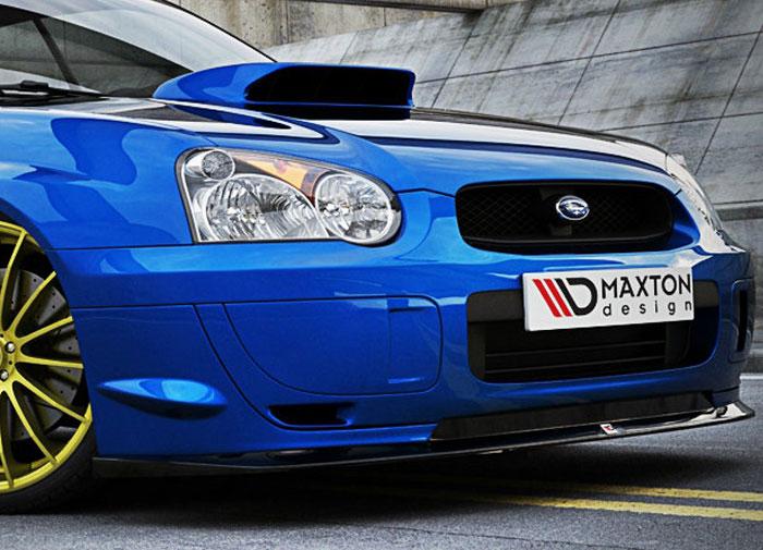 Subaru Impreza WRX STI spoiler pod originální přední nárazník 2004-09 (pro rok výroby 2004-2009)
