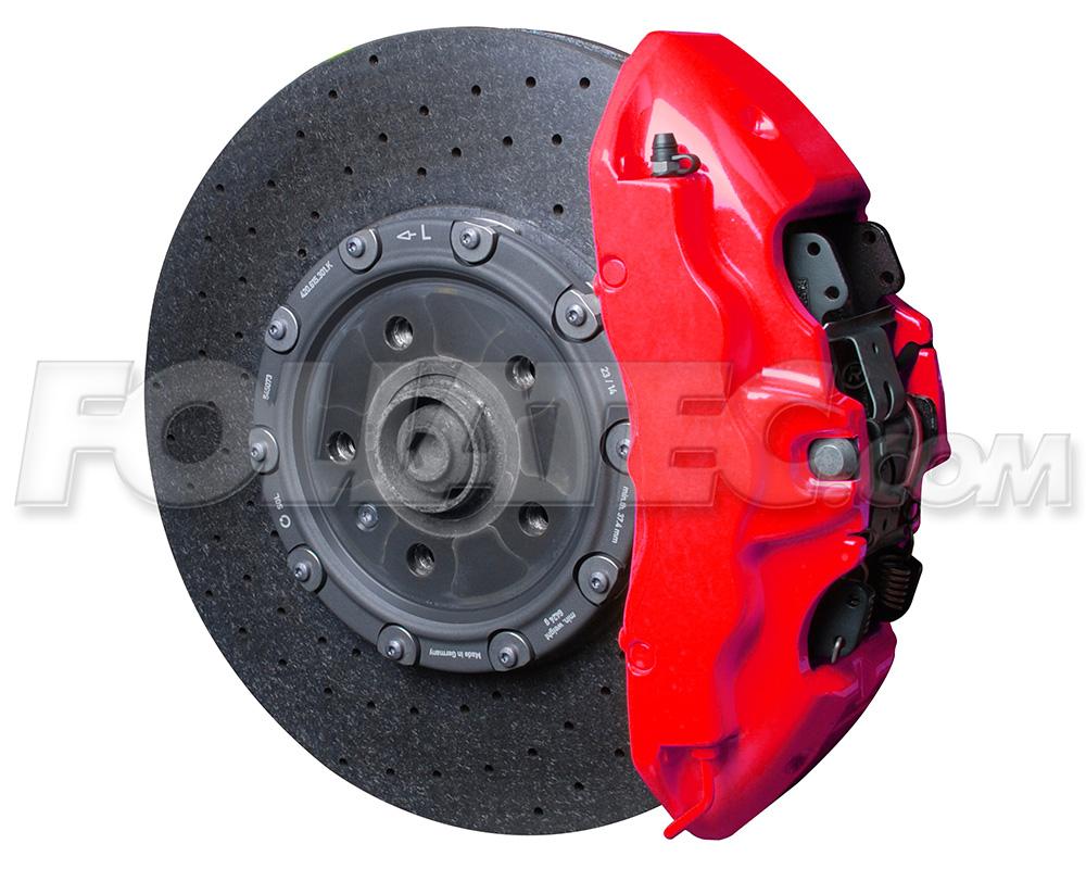 Barva na brzdy Foliatec Červená neonová