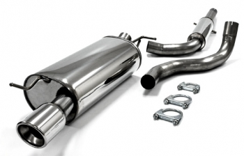 AUDI TT (8N3) Nerezový výfuk (koncovka 1x100 mm AUDI TT (8N3))