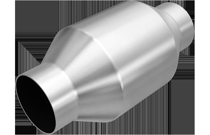 KATALYZÁTORY MAGNAFLOW METALLIC SPUN 55 mm ( vstup 55 mm, Euro 3/4)