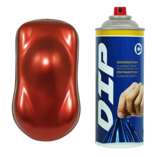 Dip sprej Červeno-měděná metalická (Fólie ve spreji červenoměděná metalíza)