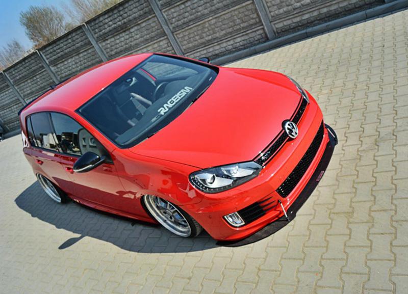 VW Golf VI GTI lipa pod přední nárazník + vzpěry (pro rok výroby 2008 - 12)