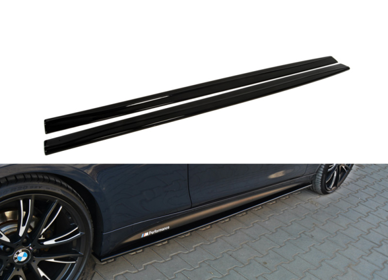 BMW řady 4 F32 boční prahové nástavce (pro rok výroby od 2013)
