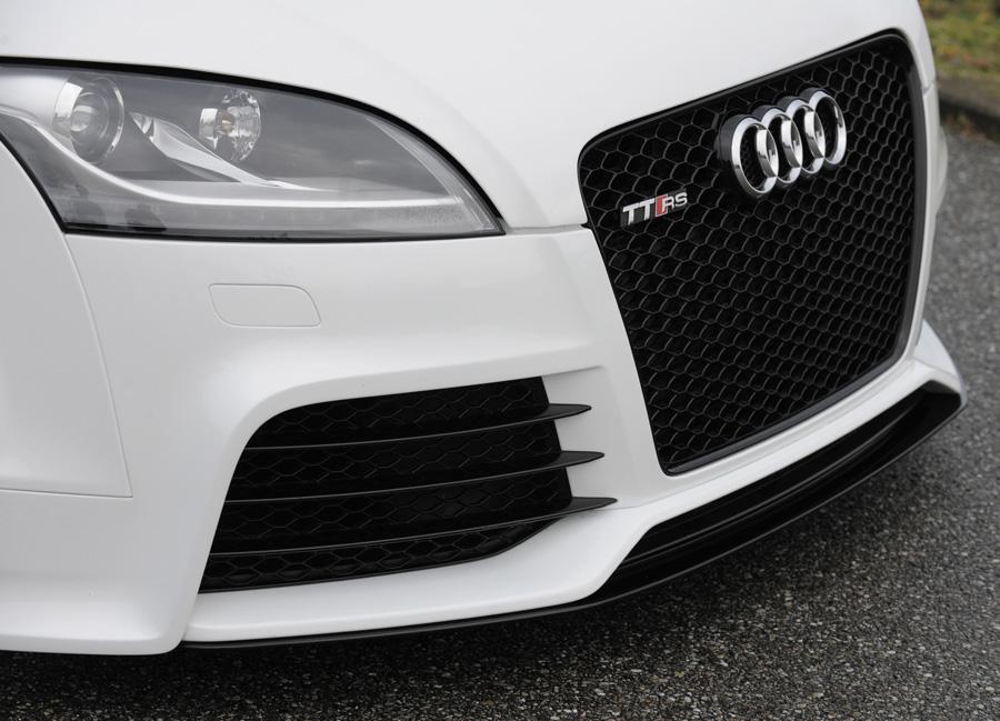 Audi TT RS 8J spoiler pod originální přední nárazník (od roku výroby 09/2009-)