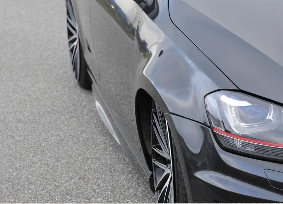 VW Golf VII R široké blatníky přední (pro maximální snížení )