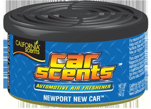 Osvěžovač vzduchu California Scents New Car (vůně Car Scents Nové Auto)