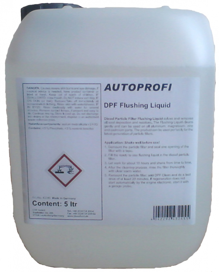 Výplach DPF 5L (5000 ml)