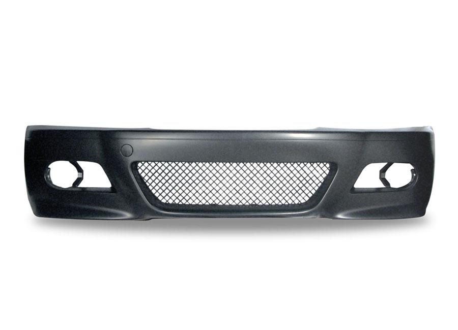 BMW E46 Coupé a Cabrio kompletní přední nárazník (M-packet vzhled)