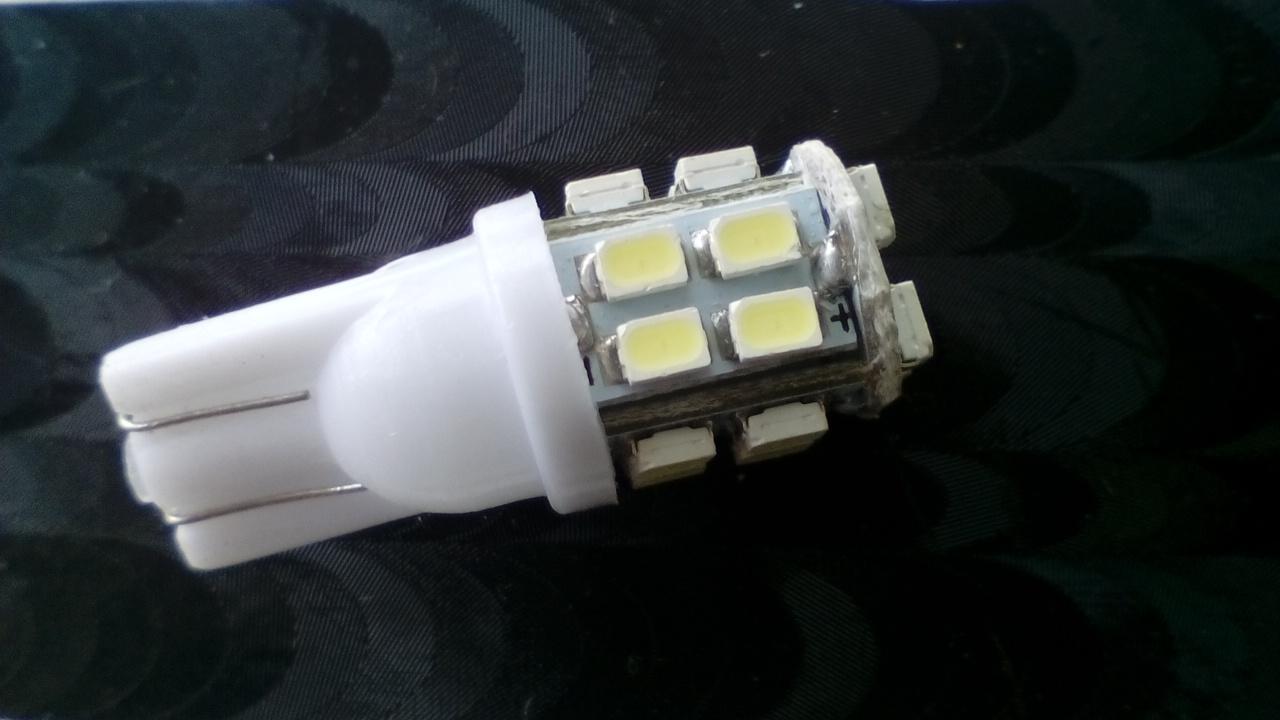 SMD LED T10 W5W - 20 LED (SMD autožárovky)