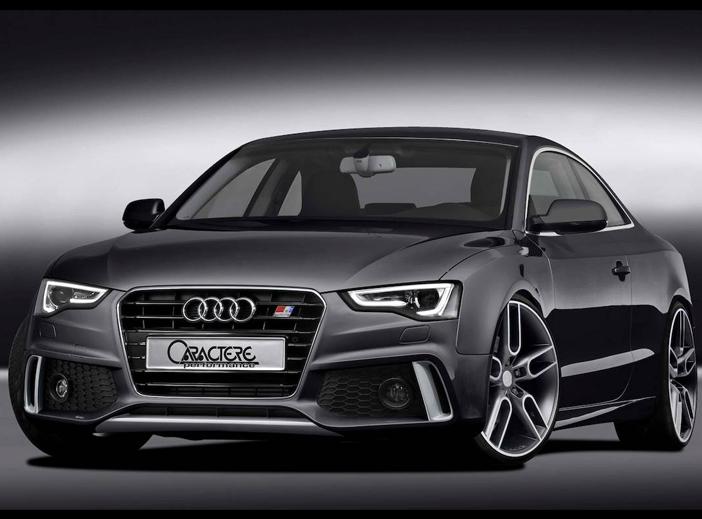 Audi A5 Facelift kompletní přední nárazník (pro Coupe - Cabrio - Sportback)
