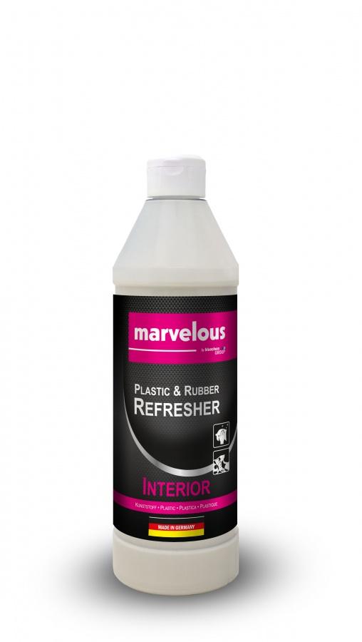 Oživovač vnitřních plastů interiéru Marvelous (Marvelous oživovač plastů a gumy - Interiér)