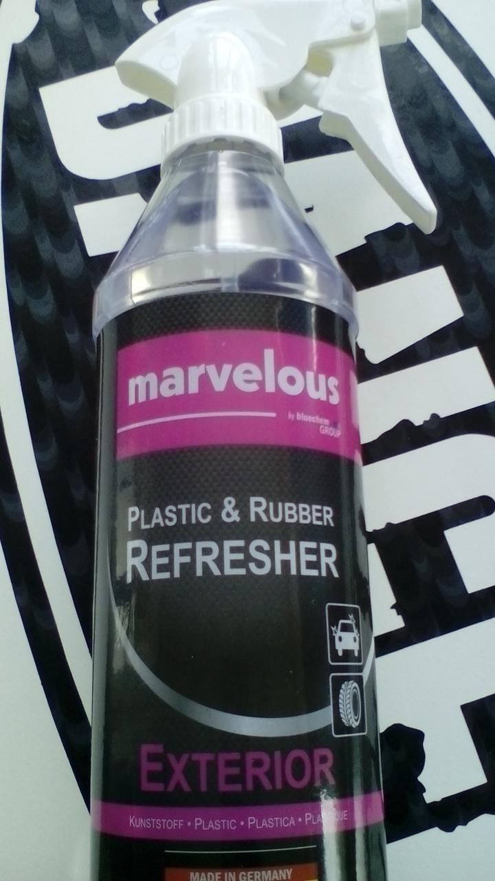 Oživovač plastů a gumových částí - exteriér (Marvelous oživovač plastů a gumy)