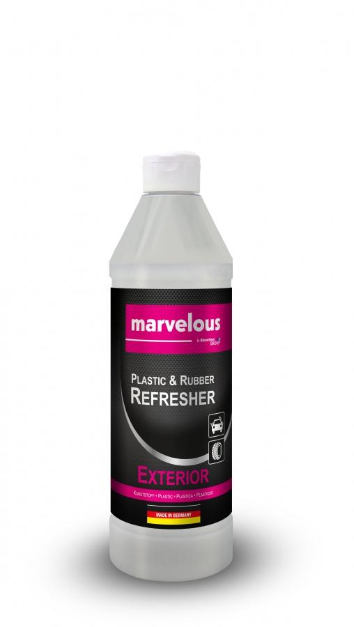 Oživovač plastů a gumových částí - exteriér Marvelous (Marvelous oživovač plastů a gumy)
