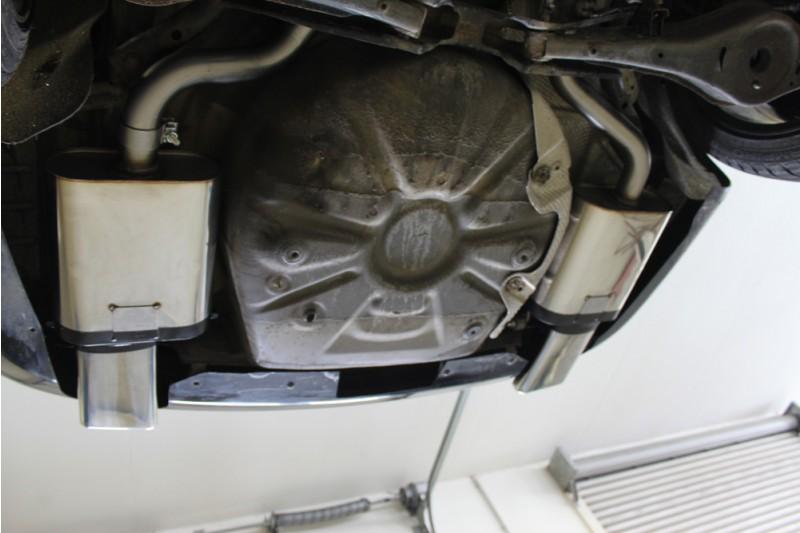 Škoda Octavia II 1Z RS a 2,0TDI včetně faceliftu tlumič výfuku na obou stranách (Koncovky 145x65 mm)