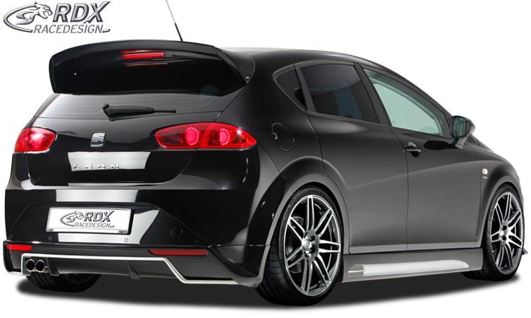 Seat Leon 1P Facelift Spoiler na zadní nárazník RDX