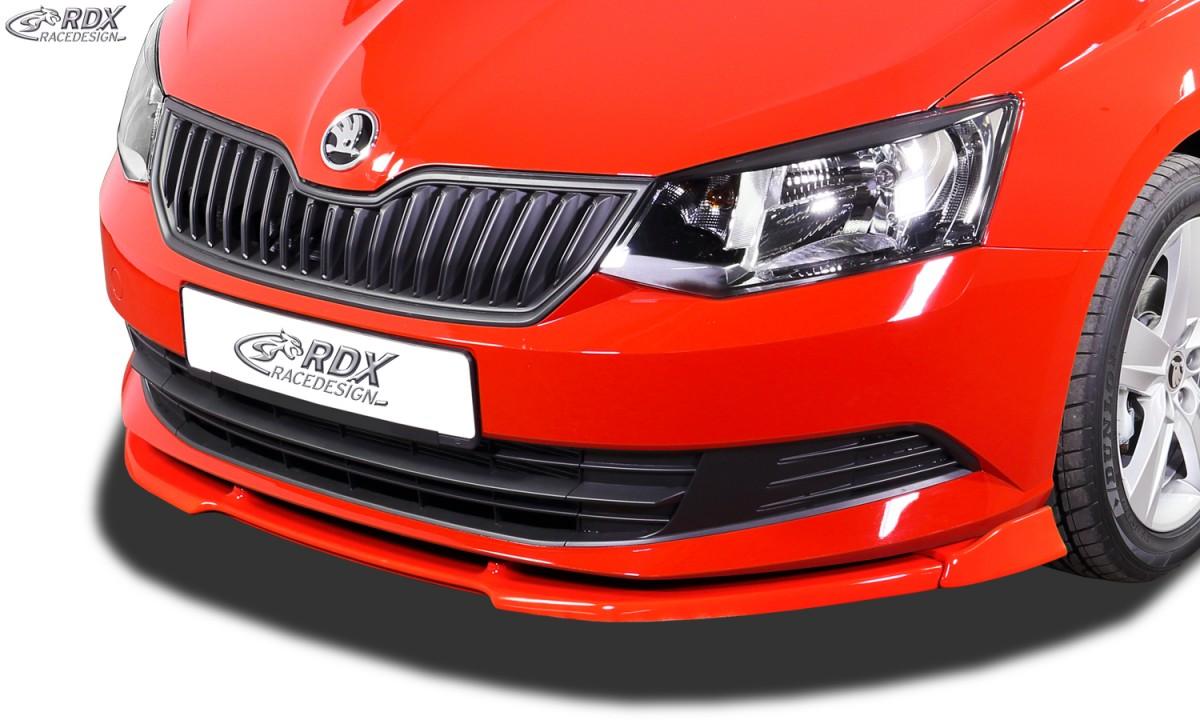 Škoda Fabia 3 NJ přední spoiler Vario-X RDX