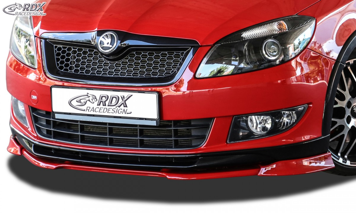 Škoda Fabia 2 Monte Carlo přední spoiler Vario-X RDX (Škoda Fabia 2 Typ 5J 2010+ Monte Carlo)