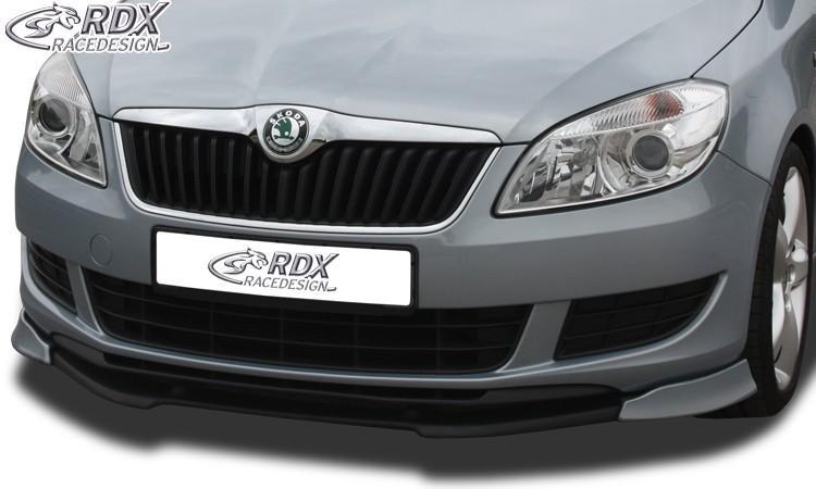 Škoda Fabia 2 2010- Přední spoiler Vario-X RDX (pro Škodu Fabia 2 5J od r.v.: 2010)