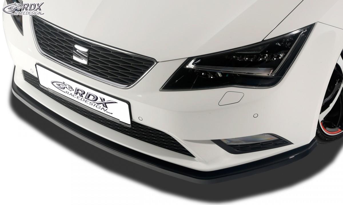 Seat Leon 5F spoiler lipa pod přední nárazník RDX