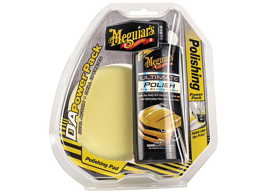 Meguiars DA Power Pack Polish (sada pro leštění do vysokého lesku)