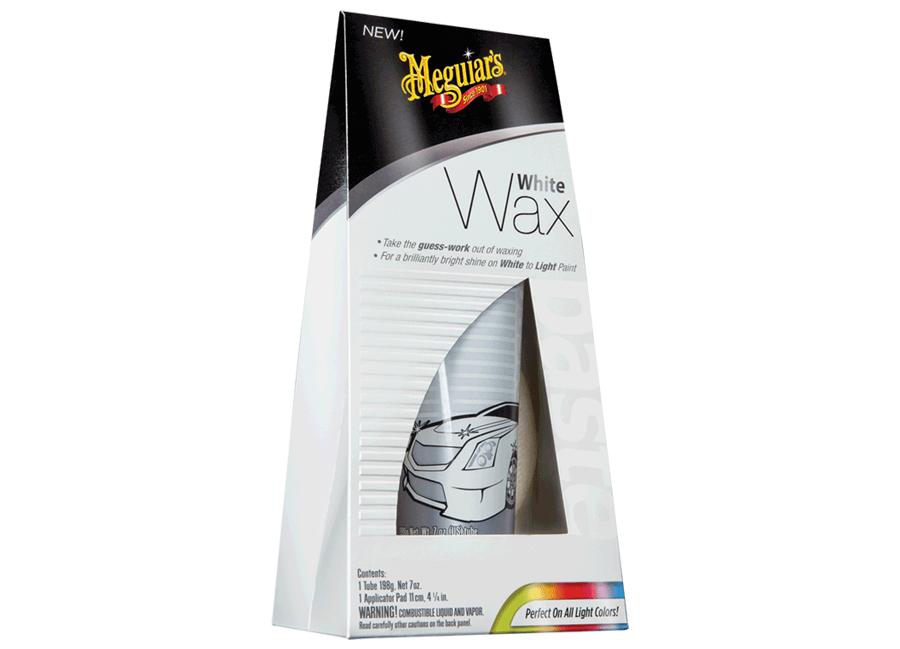 Meguiars Light Wax 198g (leštěnka s voskem pro bílé a světlé laky)