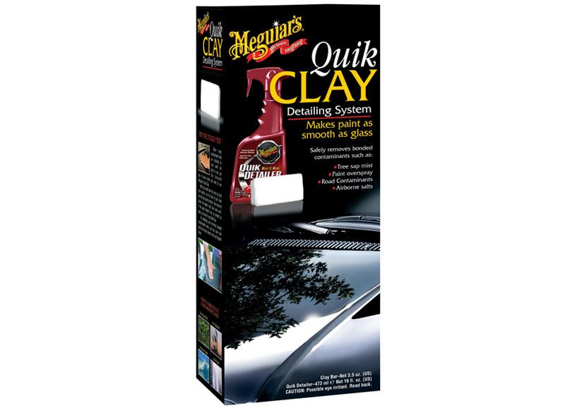 Meguiars Quik Clay Starter Kit (základní sada pro odstranění odolných nečistot z laku)