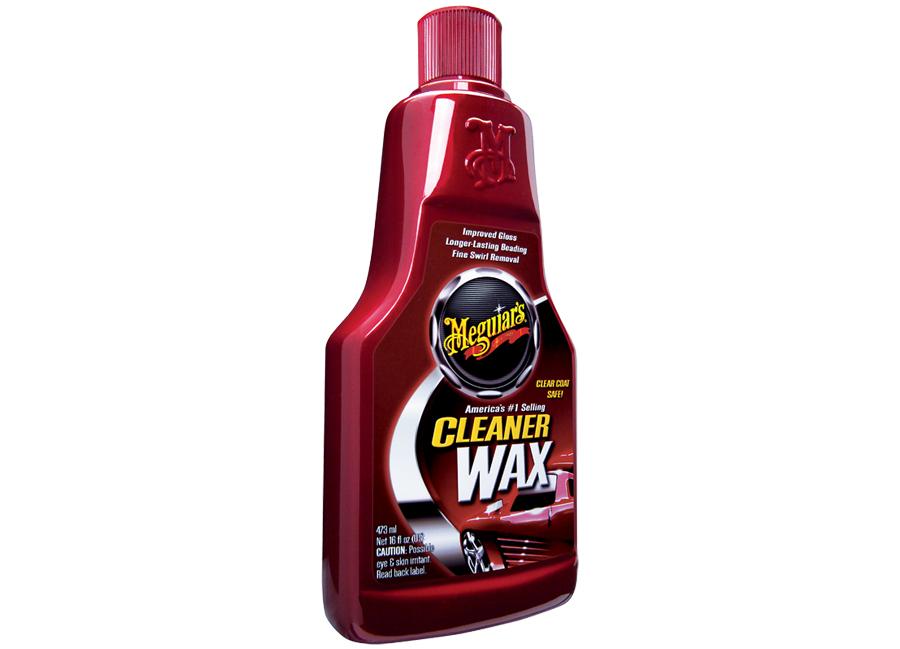 Meguiars Cleaner Wax Liquid leštěnka s voskem - 473 ml (lehce abrazivní leštěnka s voskem)