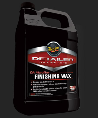 Meguiars DA Microfiber Finishing Wax - 3,78 l (leštění a voskování v jednom)