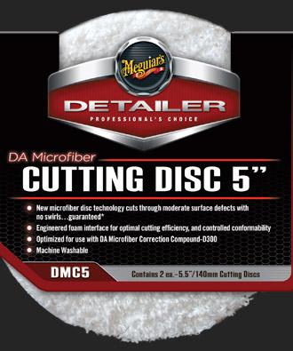 Meguiars DA Microfiber Cutting Disc 5-palcový (leštící kotouč)