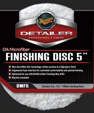 Meguiars DA Microfiber Finishing Disc 5-palcový (leštící kotouč)