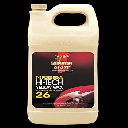 Meguiars Hi-Tech Yellow Wax - 3.78 L (Dodává laku bohatost a hloubku)