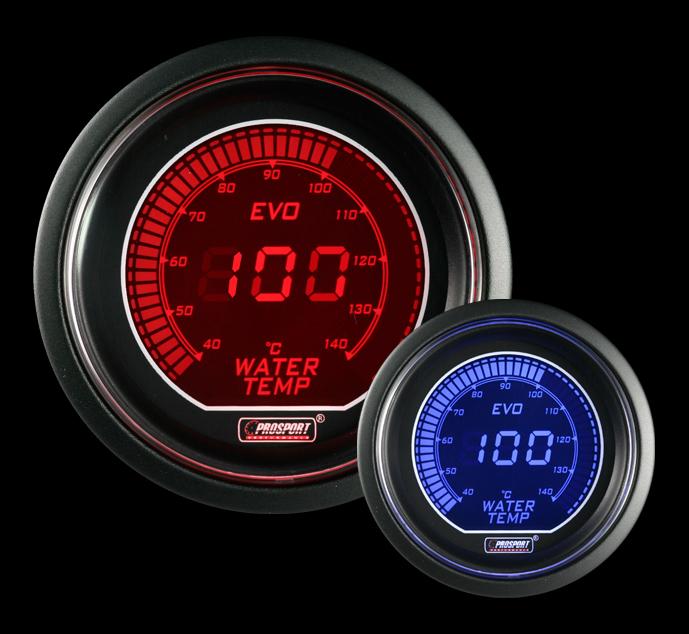 PROSPORT EVO přídavný ukazatel teploty vody 40-140st.