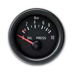 JOM palubní přístroj - tlak oleje (Tlak oleje)