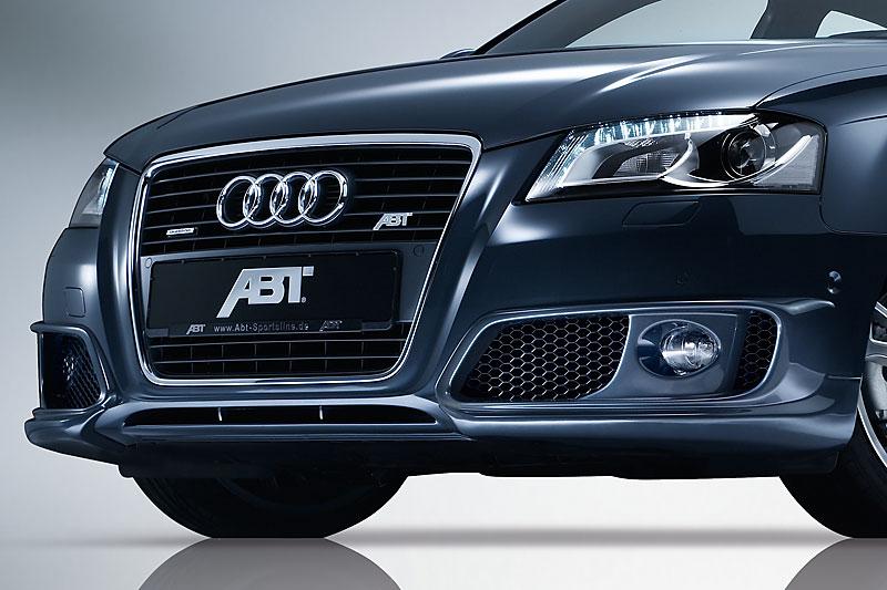 ABT spoiler pod originální přední nárazník pro Audi A3 8P8 (od 04/08)