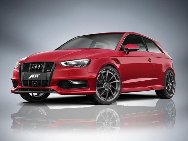 ABT spoiler na originální přední nárazník pro Audi A3 8V0 (od 8/12)
