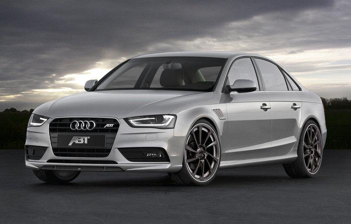 ABT sada nástavců bočních prahů pro Audi A4 8K2