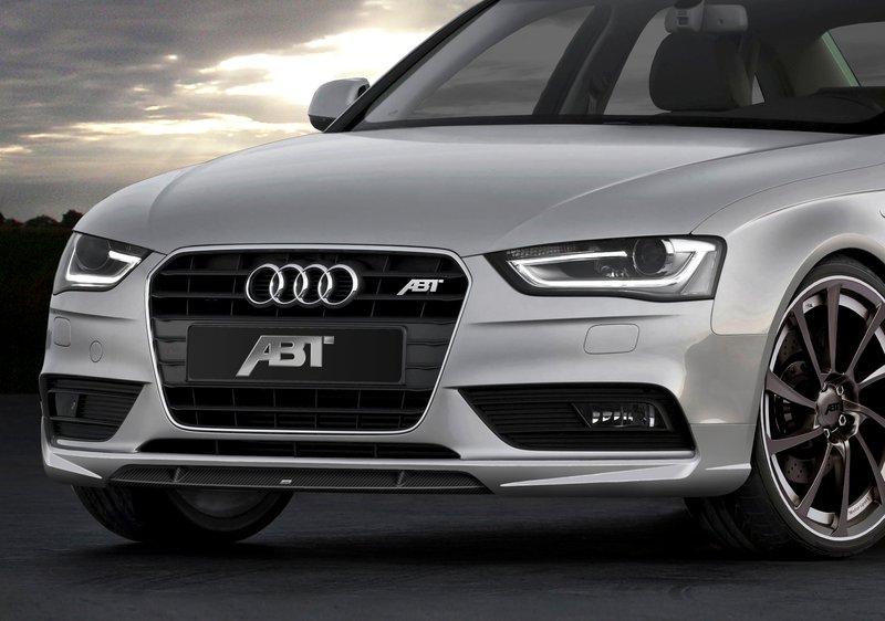 ABT spoiler pod přední nárazník pro Audi A4 8K2