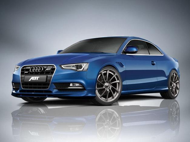Spoiler pod přední nárazník pro pro Audi A5 8T2