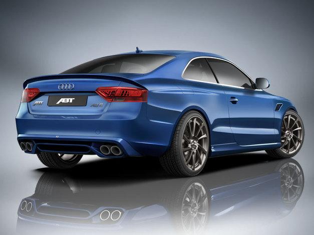 Set zadního spoileru a koncového tlumiče výfuku pro Audi A5 8T2 1,8l, 2,0l TDI