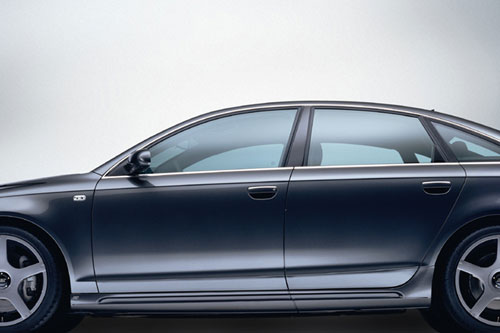 Sada nástavců bočních prahů pro Audi A6 4F